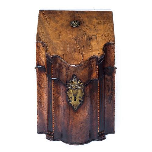 George III Mahogany Knife Box