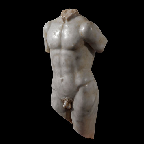 Grand Tour Marble Torso of a Male Youth