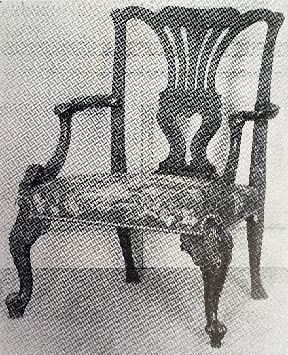 George II Chippendale Armchair