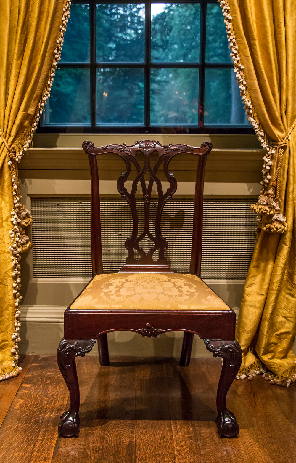 A superb Philadelphia chair The Port Royal Parlor at Winterthur