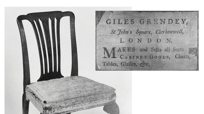 Chairs of Giles Grendey