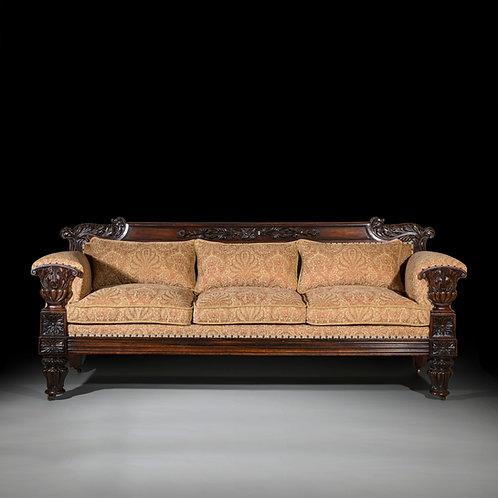 Fine Regency Rosewood Sofa by John Taylor