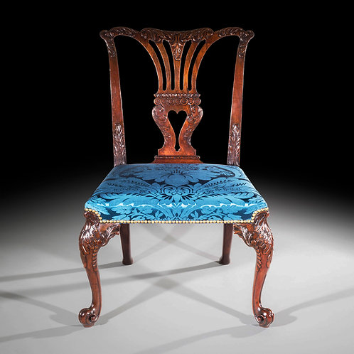 Fine Chippendale Mahogany Chair