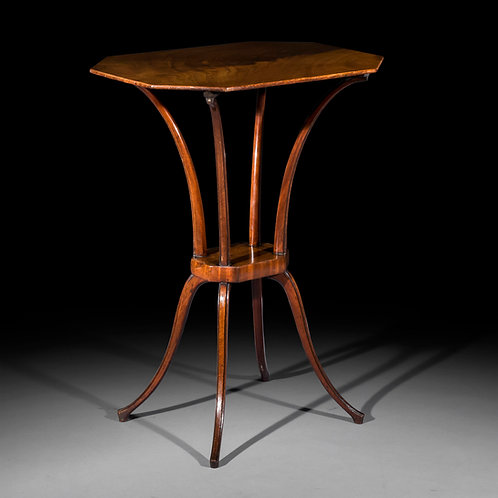 Fine George III Spider Leg Table