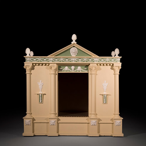 Antique Neoclassical Dog House in the manner of Robert Adam