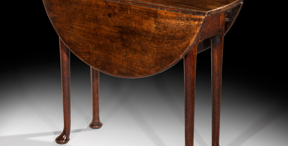George II Red Walnut Table