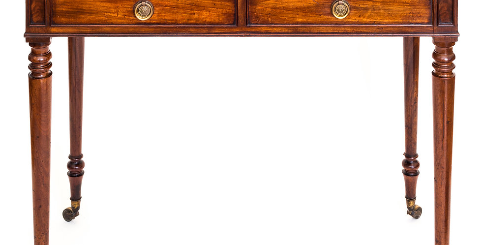 Regency Mahogany Side Table Attributed to Gillows