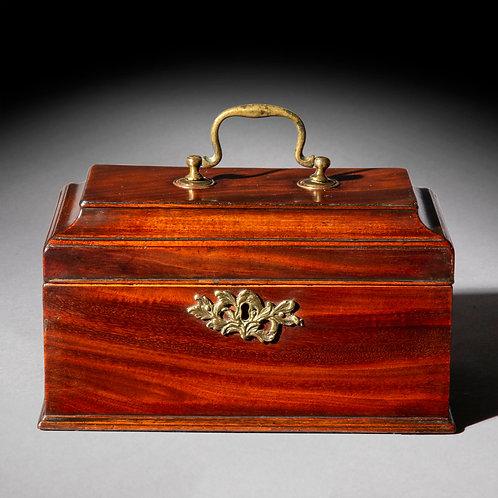 George III Chippendale Tea Caddy