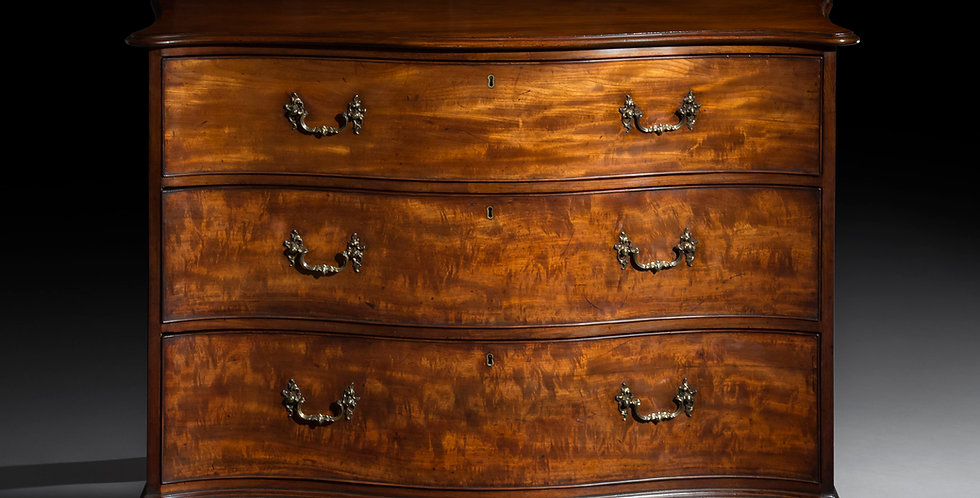 Antique Chippendale Chest of Drawers in Mahogany or Georgian Period