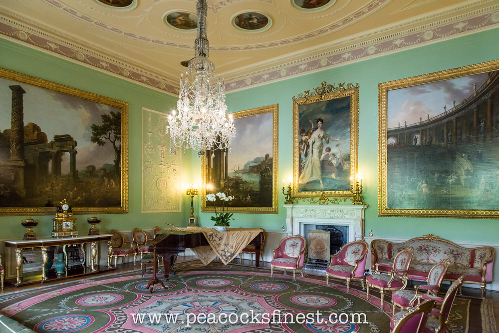 Harewood House, The Music Room. The most complete example of Adam's interiors at Harewood