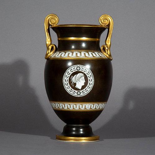19th Century Grand Tour Porcelain Vase