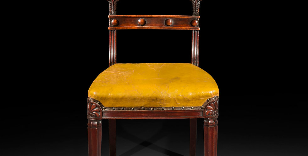 Set of Six Regency Dining Chairs, in the manner of Marsh and Tatham
