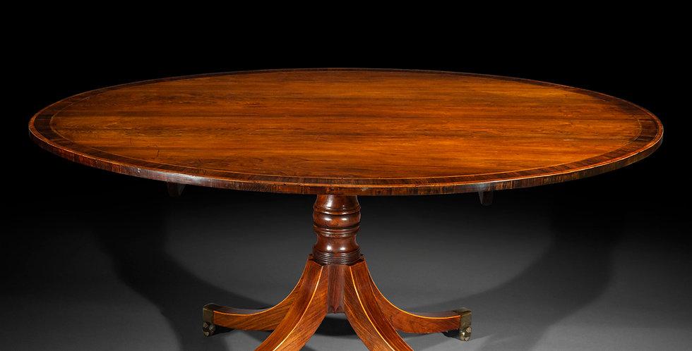 George III Oval Dining Table
