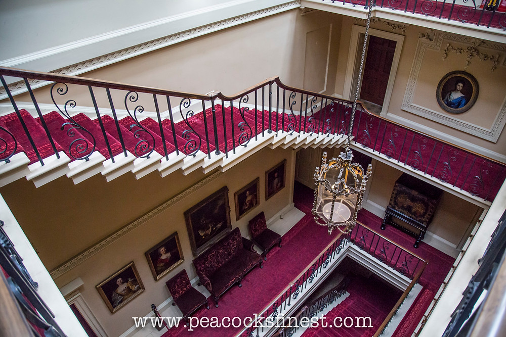 Nostell Priory, staircase