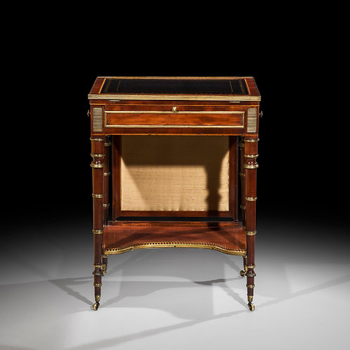 Fine George III Mahogany Writing Table attributed to John McLean