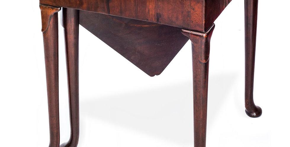 George II Mahogany Corner Table