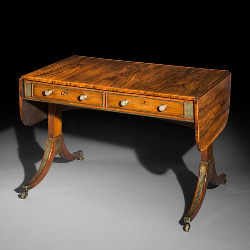 Fine Regency Sofa Table by John McLean