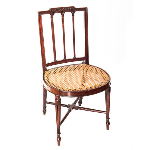 Fine George III Mahogany Chair, Manner of Gillows