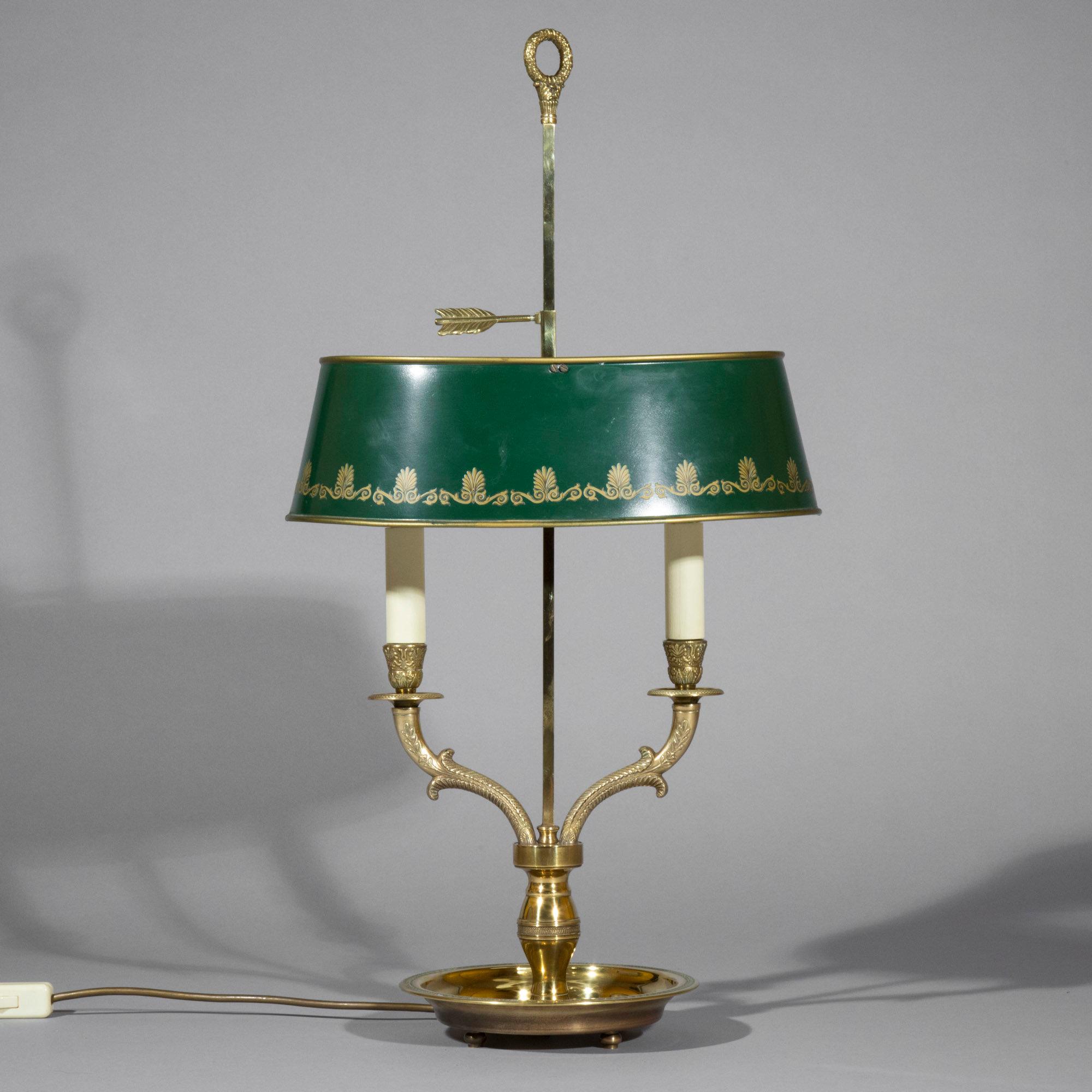 Bouillotte Table Lamp Peacocks Finest