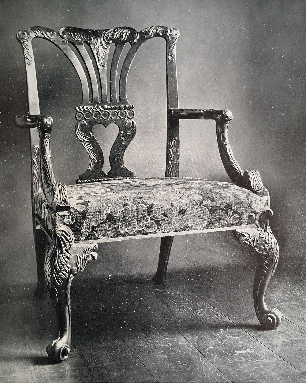 An armchair from Percival D. Griffiths collection