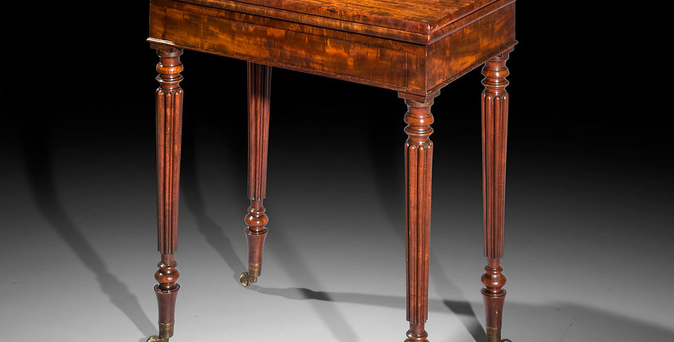 Smart Regency Table, Attributed to Gillows