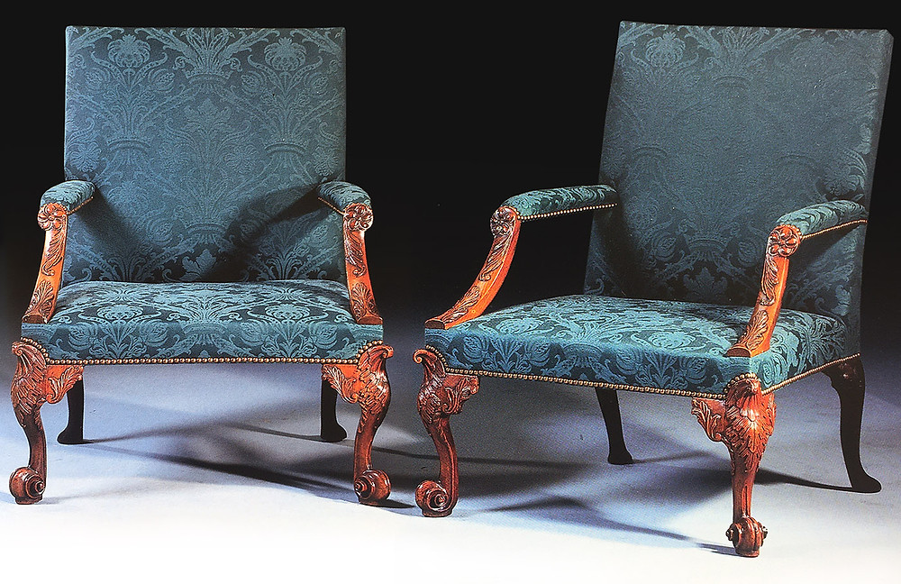 George II Armchairs Hinton House