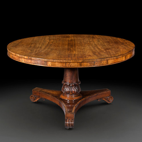 Regency Rosewood Circular Table