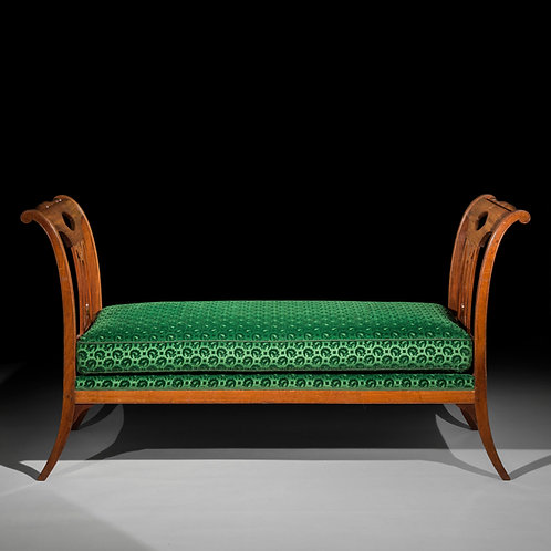 Fine Directoire Window Seat by G.Jacob