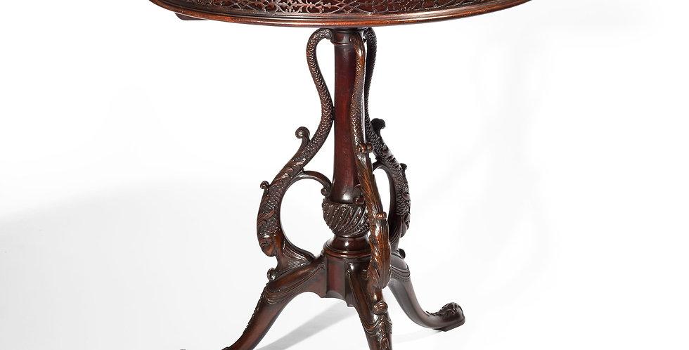 George III Mahogany Tripod Table