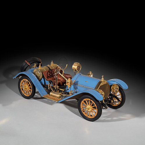 Limited Edition 1/8 Scale Model 1913 Mercer 35J Raceabout by Sapor Modelltechnik