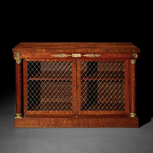 Regency Ormolu Mounted Bookcase