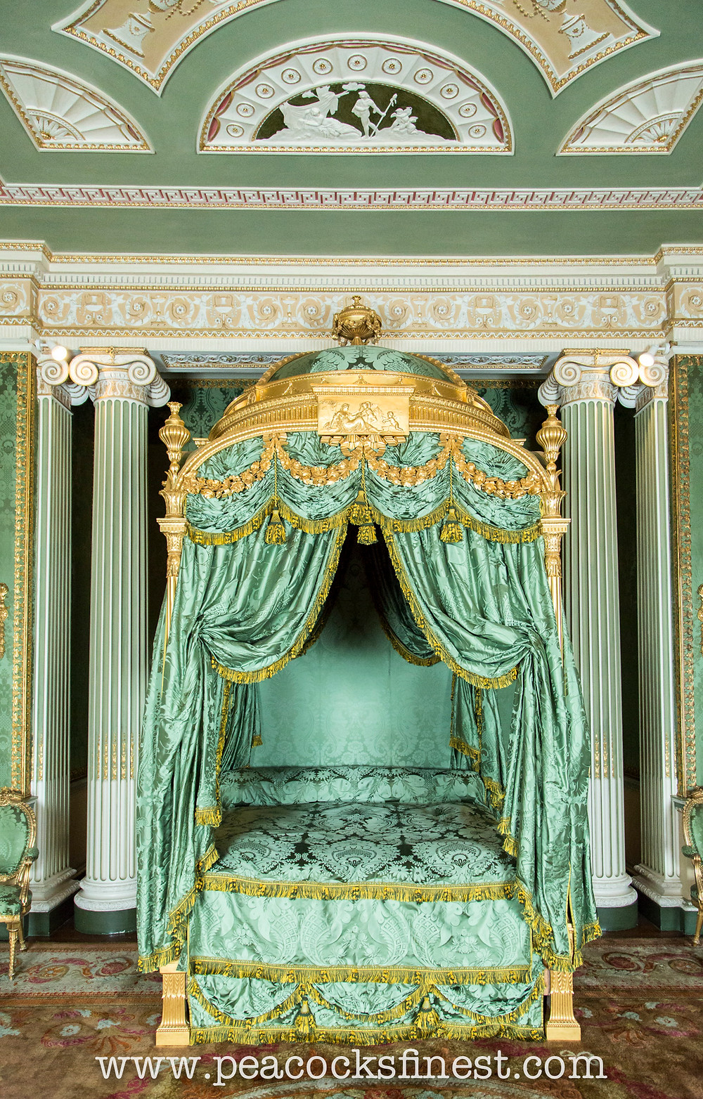 Harewood House, the State Bedroom