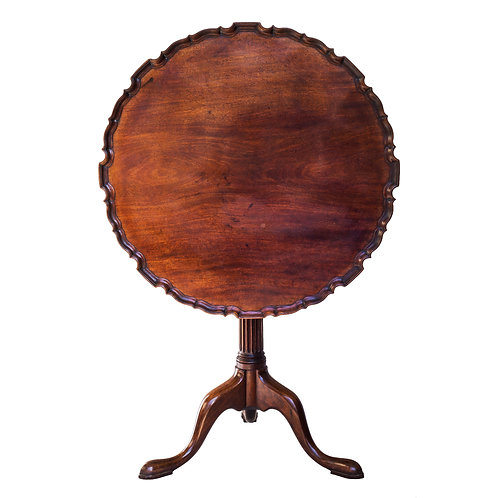 Fine George III Mahogany Tripod Table