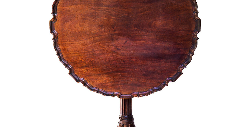Fine George III Mahogany Tripod Table