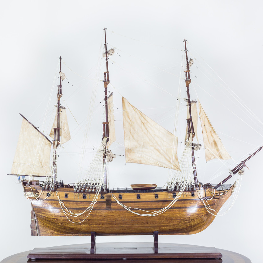 Antique Ship Model HMS Pandora