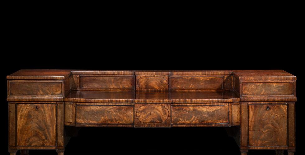 Antique Sideboard in Mahogany of Regency Period