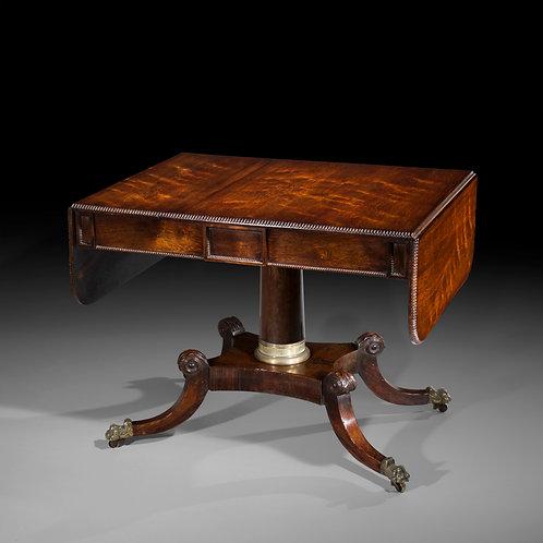 Fine Regency Brass Mounted Sofa Table