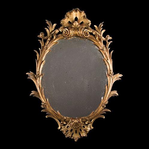 Fine 19th Century Rococo Mirror