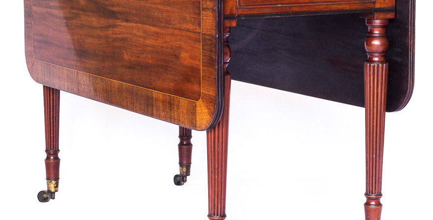 Fine Regency Mahogany Pembroke Table in the manner of Gillows