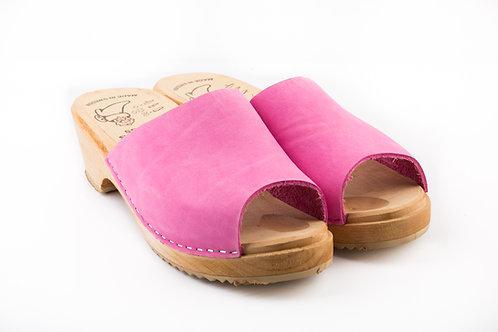 Low Heels Pink Fuchsia Heel