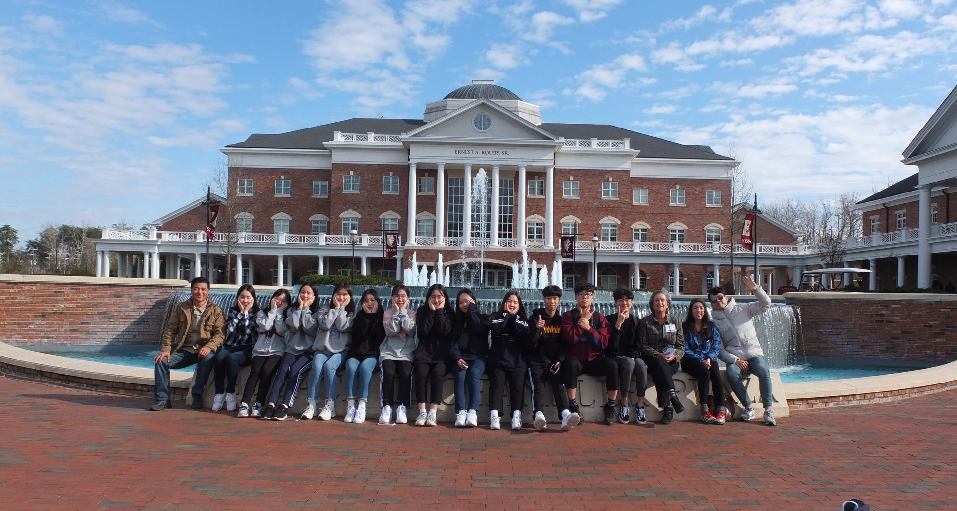 Gwacheon Students at Elon