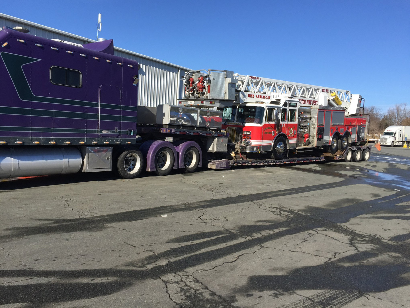 Fire Truck Donated from Burlington to Soledad