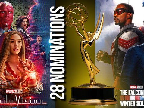 'WandaVision', 'Falcon' Earn 28 Emmy Nominations