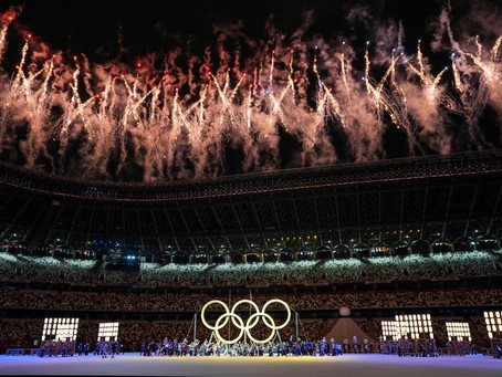Olympic Opening Ceremony: A Ghost Town in Tokyo