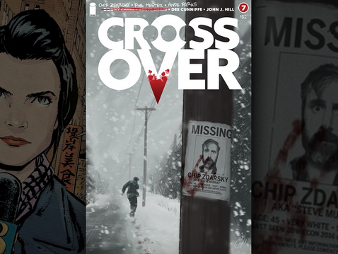 """Crossover Issue #7: Chip Zdarsky Shines with His """"Meta"""" Storyline"""
