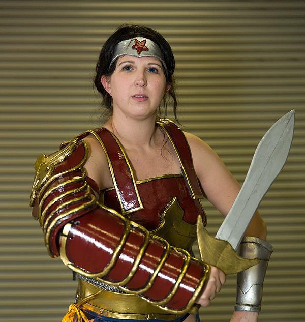 Wonder WOman Divine Armor -  Samantha Cl
