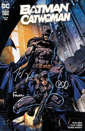Batman Catwoman 1 Trade Dress Signed 3 t