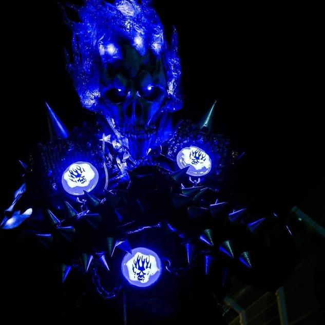 Danny Ketch Blue Ghostrider