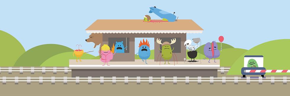 Platform, Train Station, Dumb Ways to Die