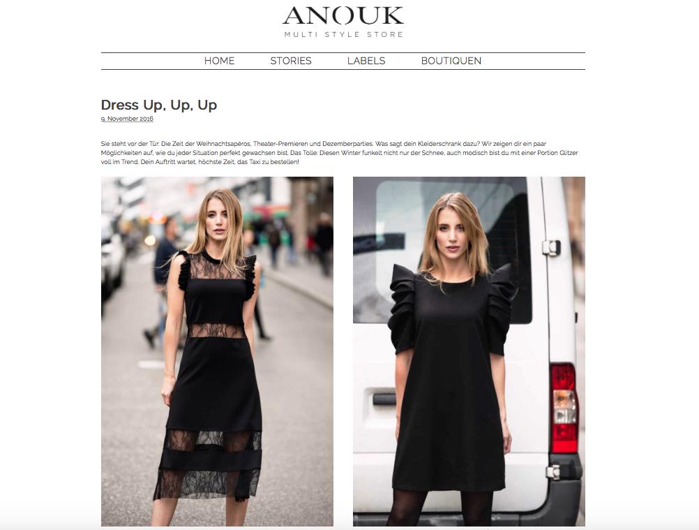 dress up fashion shoot_client